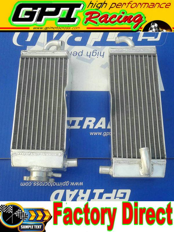 Aluminum radiator + hose YAMAHA YZ125 YZ 125 96-01 97 98 99