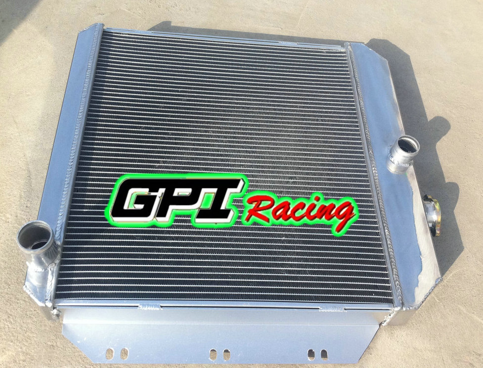 Aluminum Radiator Fan For Chevy GM Pickup Truck 1960 1961 1962 60 61 Manual