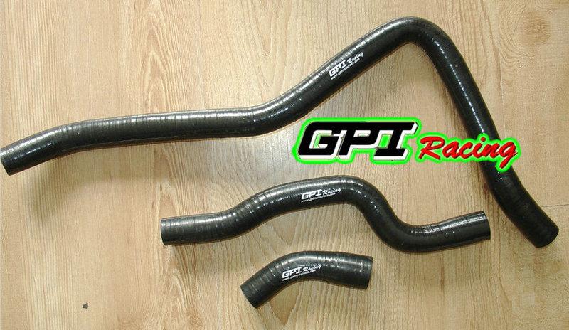 For Yamaha Raptor 660R YFM660R 2001 02 03 04 2005 Aluminum Radiator /& hose BLACK