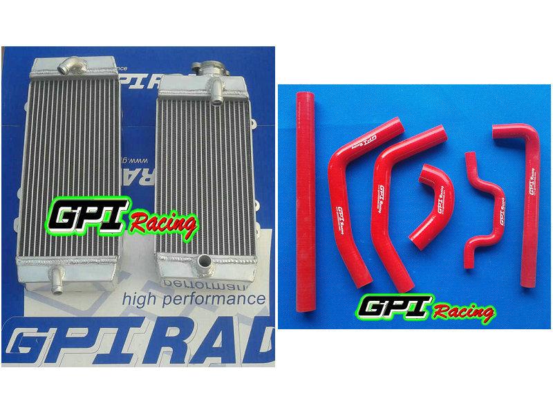 NEW Kawasaki KX250F KXF250 KX 250F 06 07 08 2006 2007 2008 Aluminum radiator