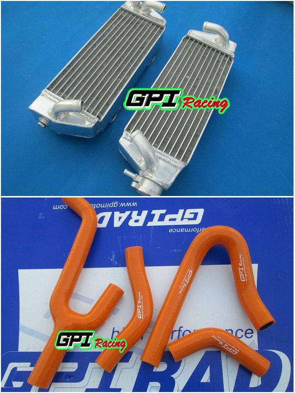 BLUE silicone radiator hose for KTM 250//300//380 SX//EXC//MXC 1998-2003 1999 00 01