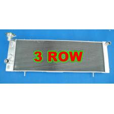 5Aluminum Radiator for 1991-2001 JEEP Cherokee XJ 4.0 242 CID L6 with fan×3