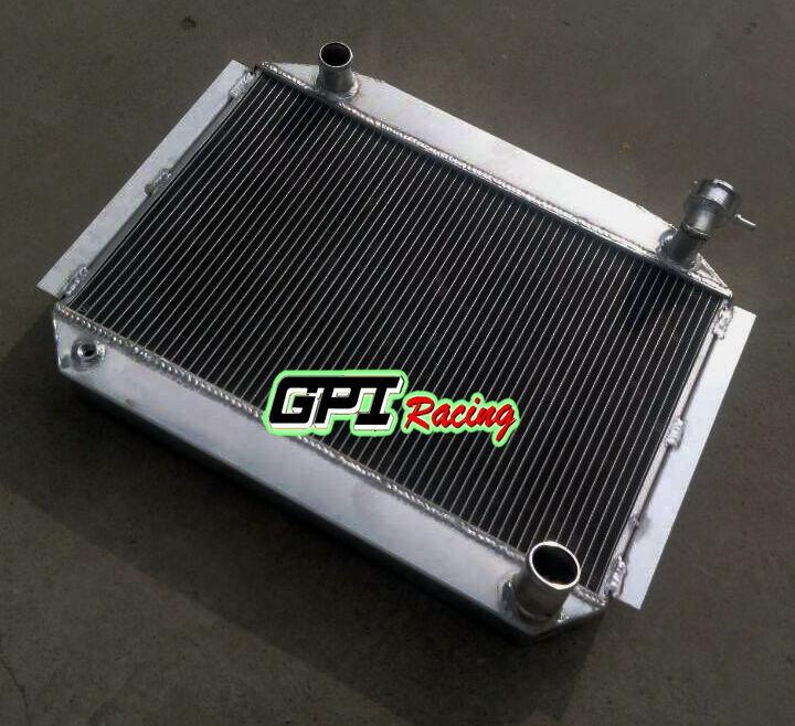 56mm up to 700HP aluminum alloy radiator chevy corvette 350 V8 M//T 1955-1960
